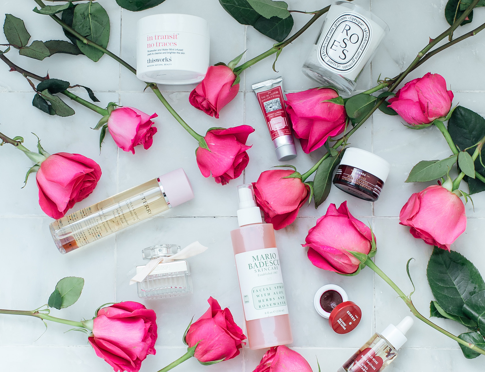 Sydne Style reviews the best rose beauty products for national fragrance day