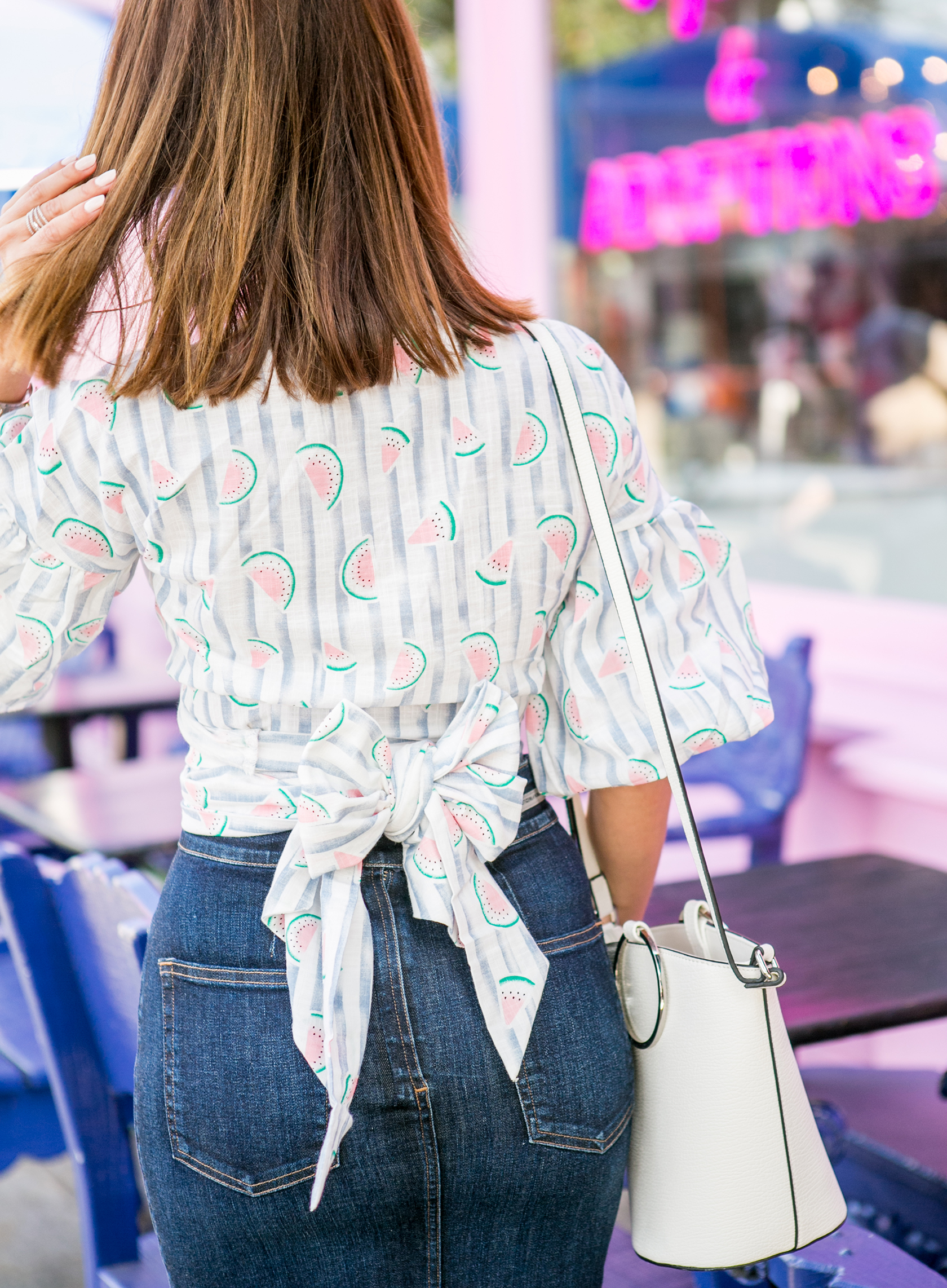 Sydne Style shows cute tie back tops for summer from shein