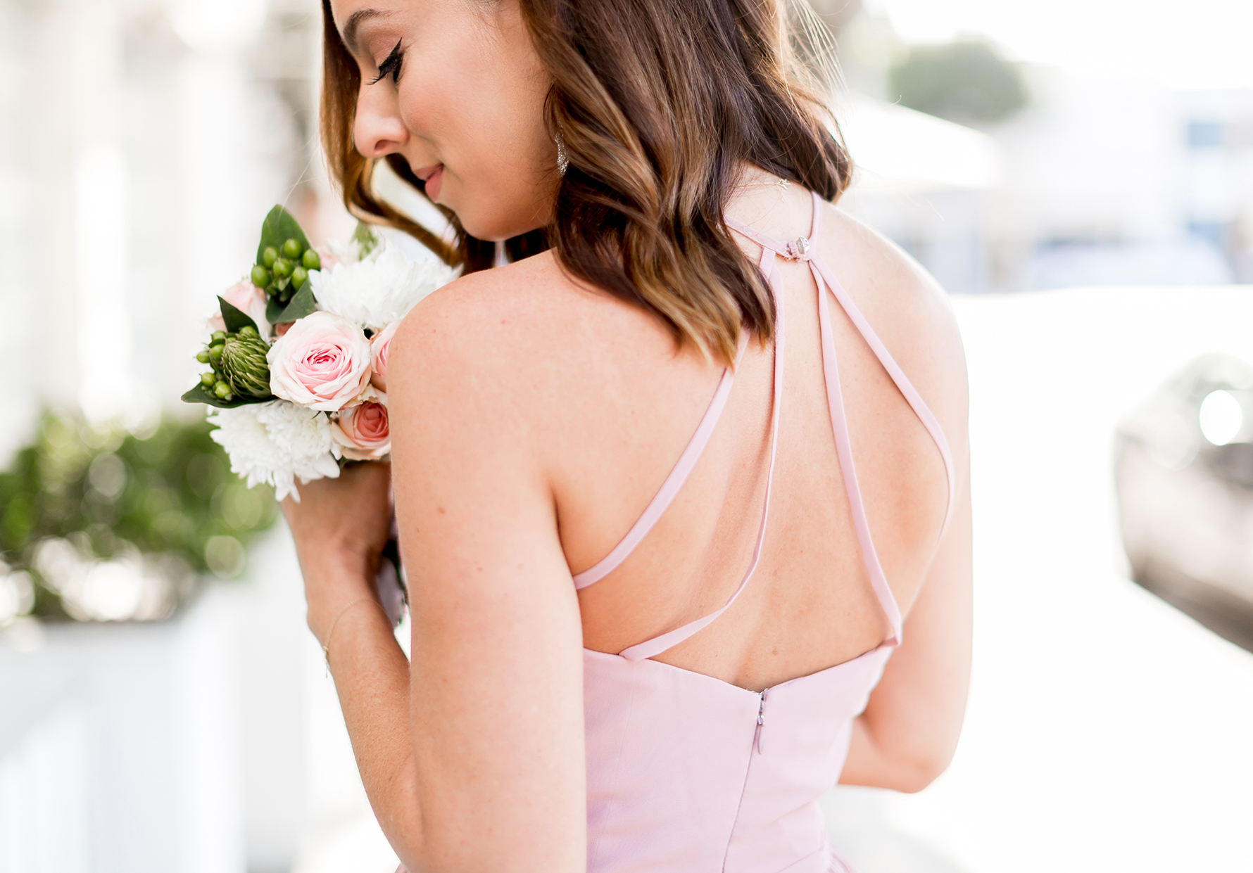Sydne Style shows flattering online bridesmaid dreses