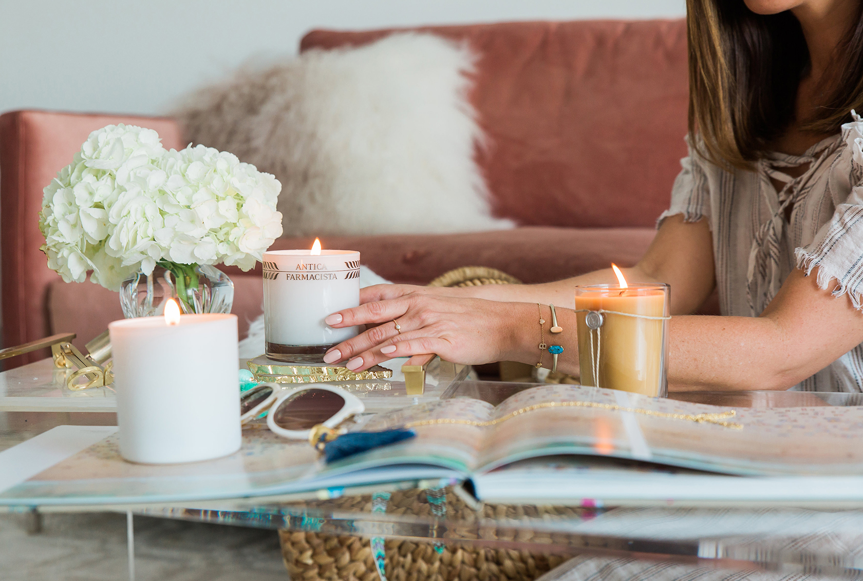 Sydne Style shares the best beach candles online for home decor ideas