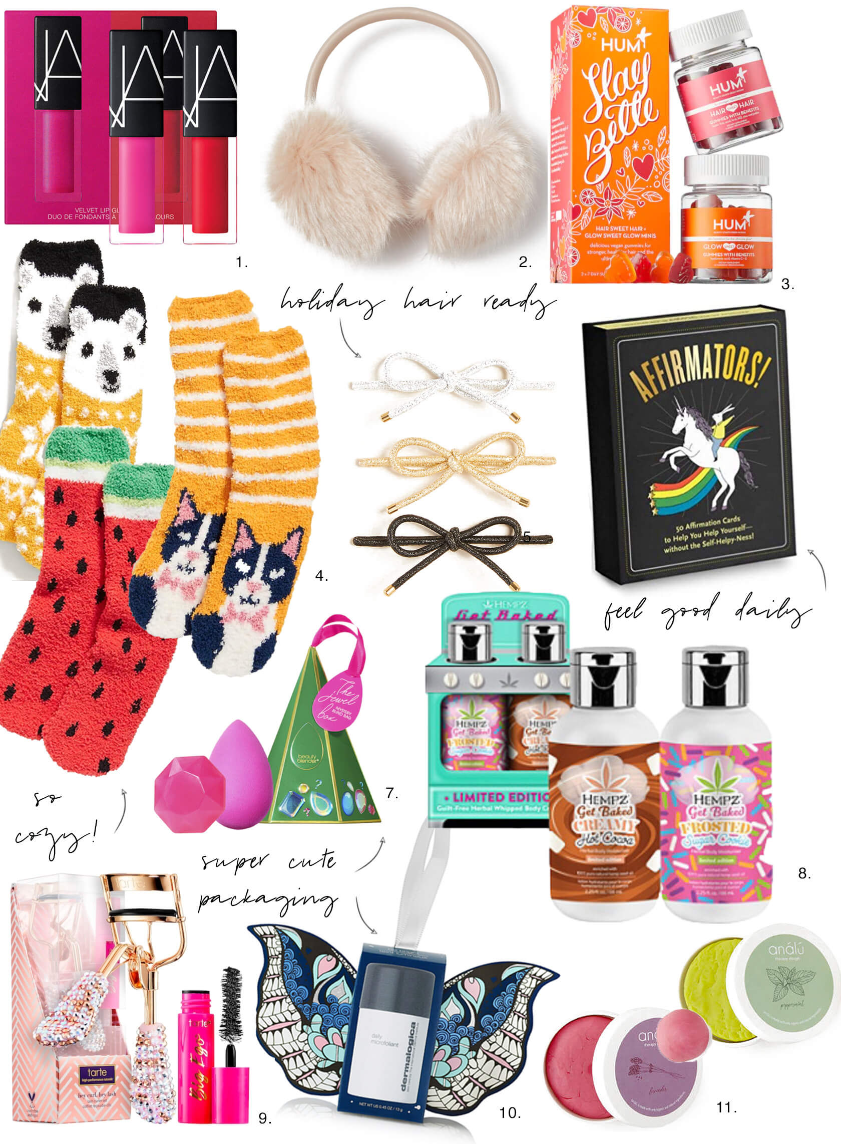 Sydne Style shows stocking stuffers for holiday gift guide ideas under $20