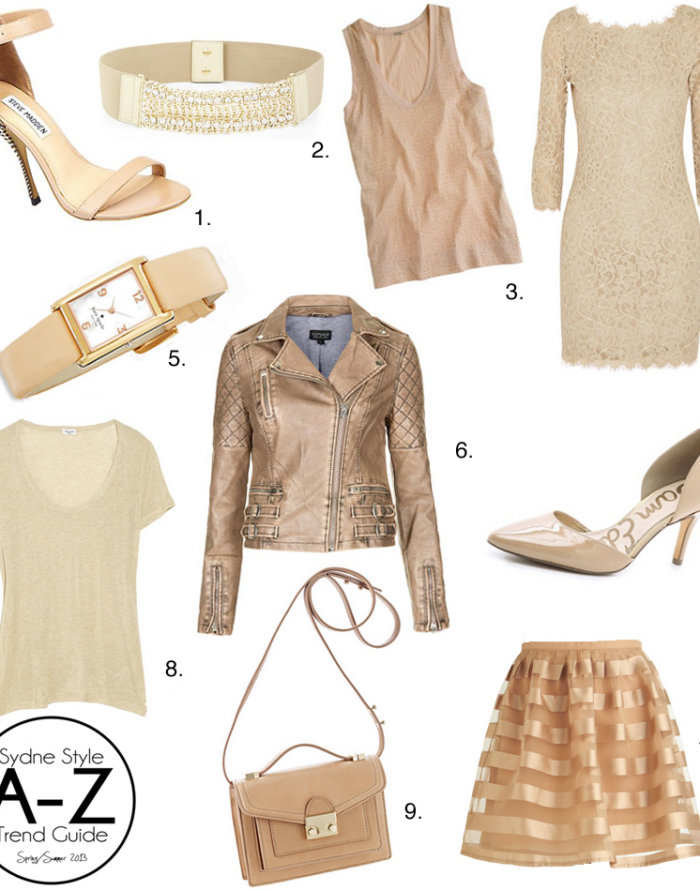 A-Z Trend Guide: Nude