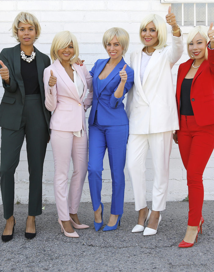 Hillary Clinton Pantsuit Group Halloween Costume DIY