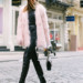 sydne-style-shows-how-to-wear-the-faux-fur-trend-with-a-tarte-pink-fuzzy-coat thumbnail