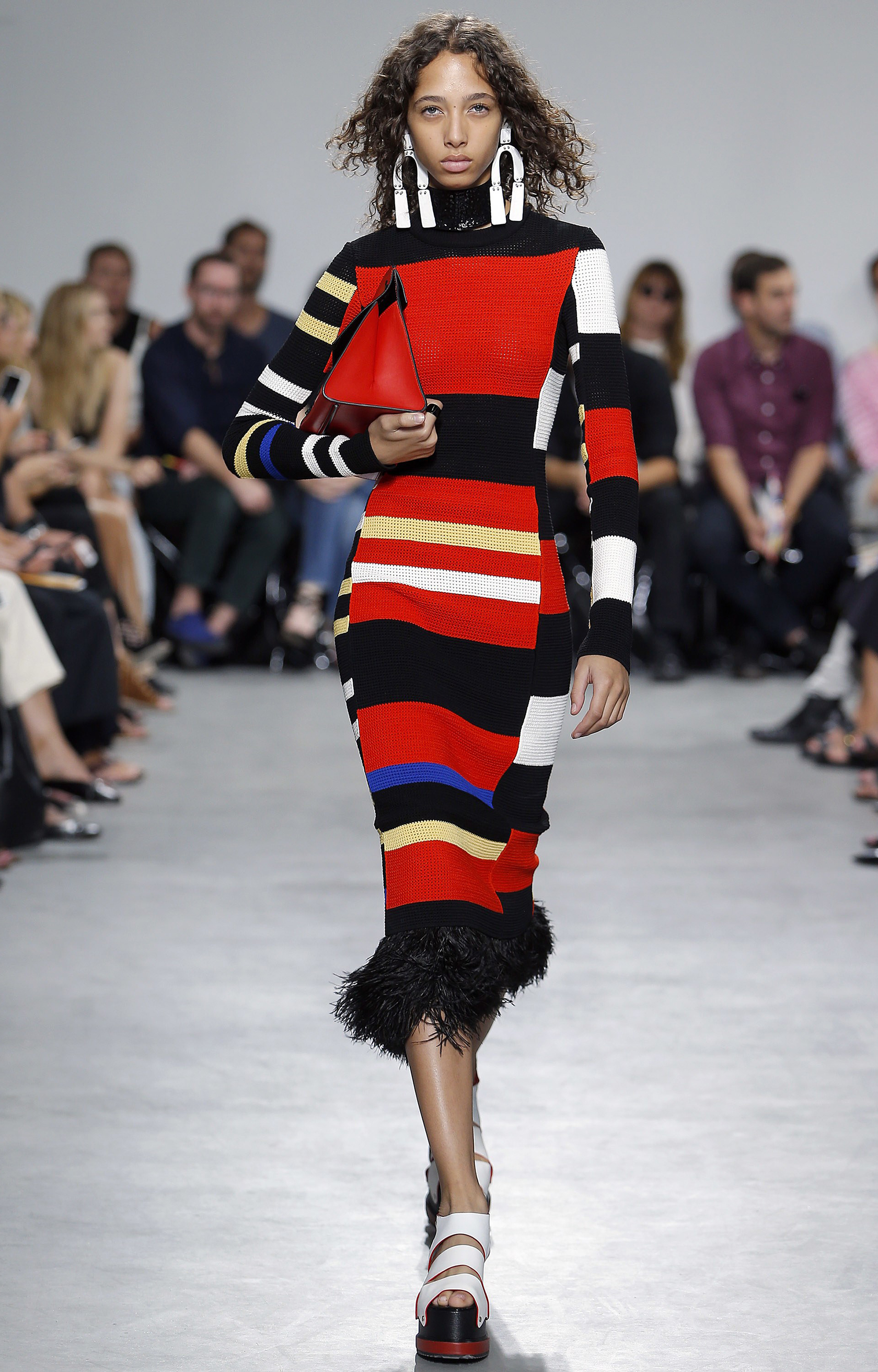 Sydne Style reviews fashion week stripes at proenza schouler