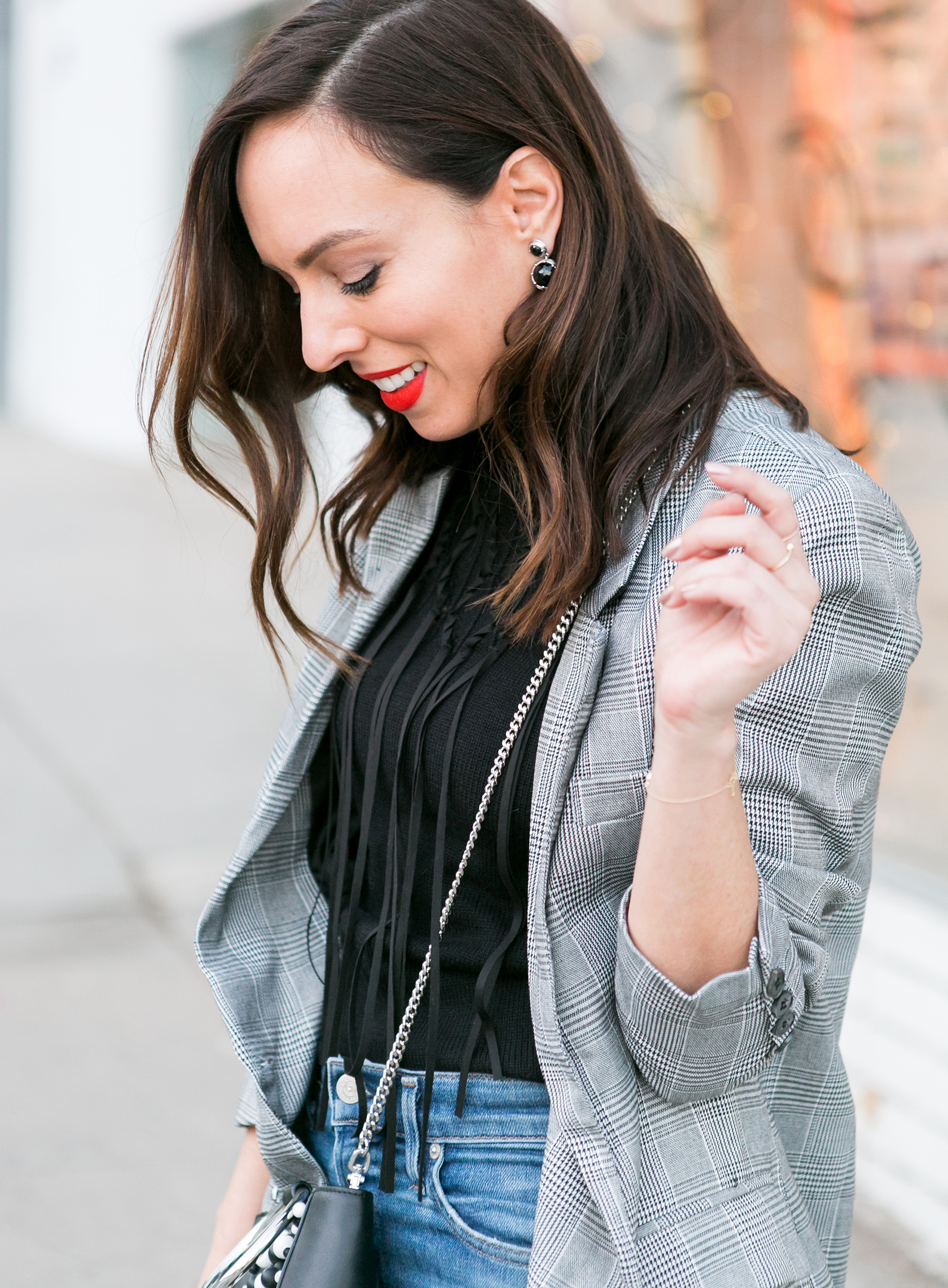 Sydne Style shows how to wear a turtleneck for casual winter outfits