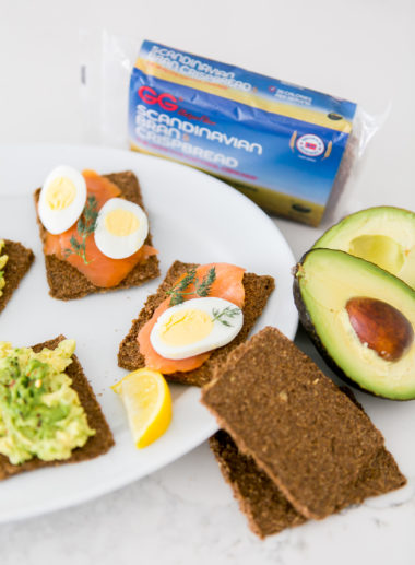 Sydne Style shares breakast recipess with gg crackers