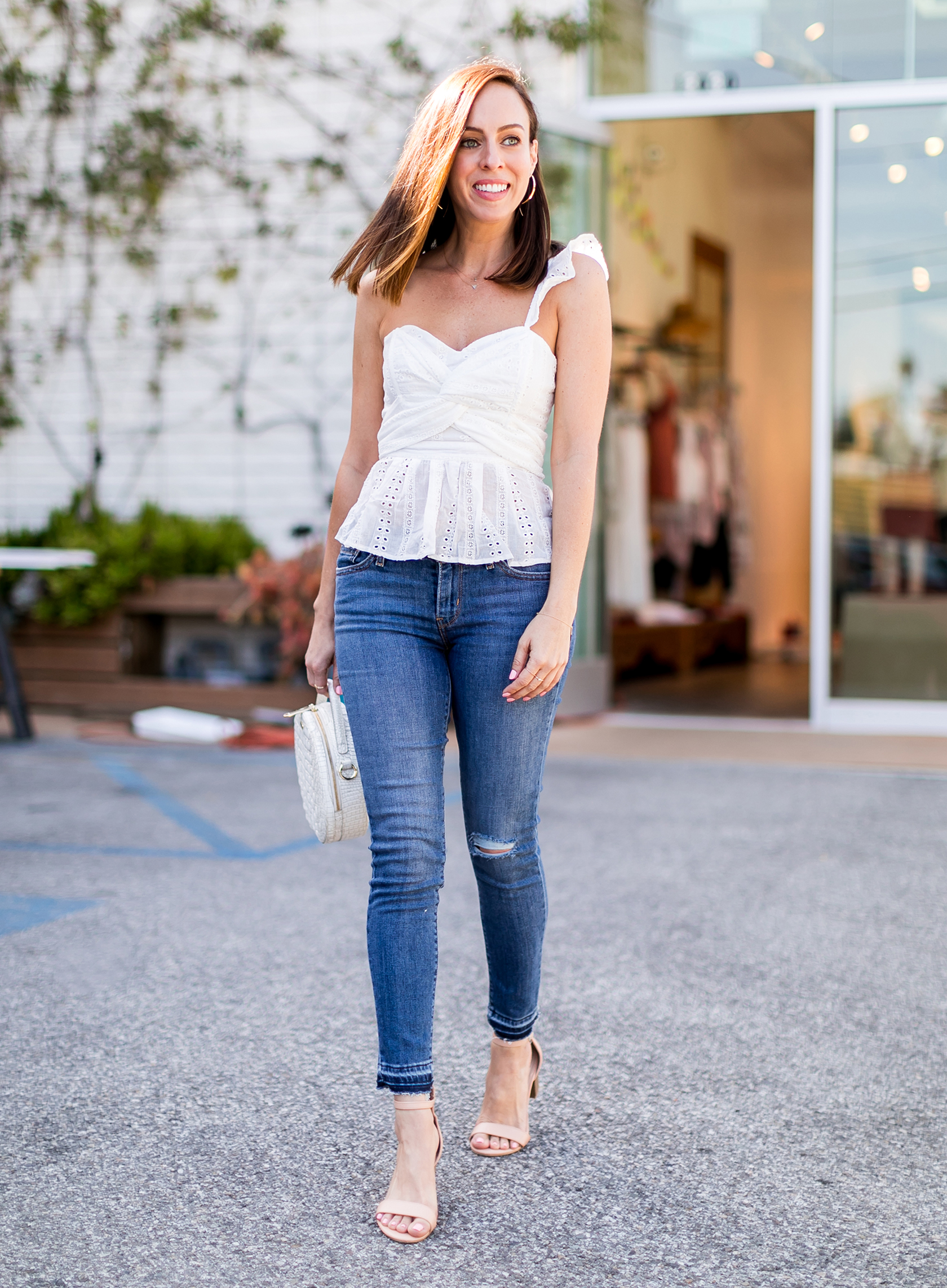 White Eyelet Tops for Summer | 2018 Fashion Trends