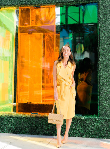 Sydne Style shows art installations on rodeo drive for bold beverly hills
