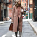 Sydne Style shows the best winter hat trends with fashion blogger brooklyn blonde in blush beanie thumbnail