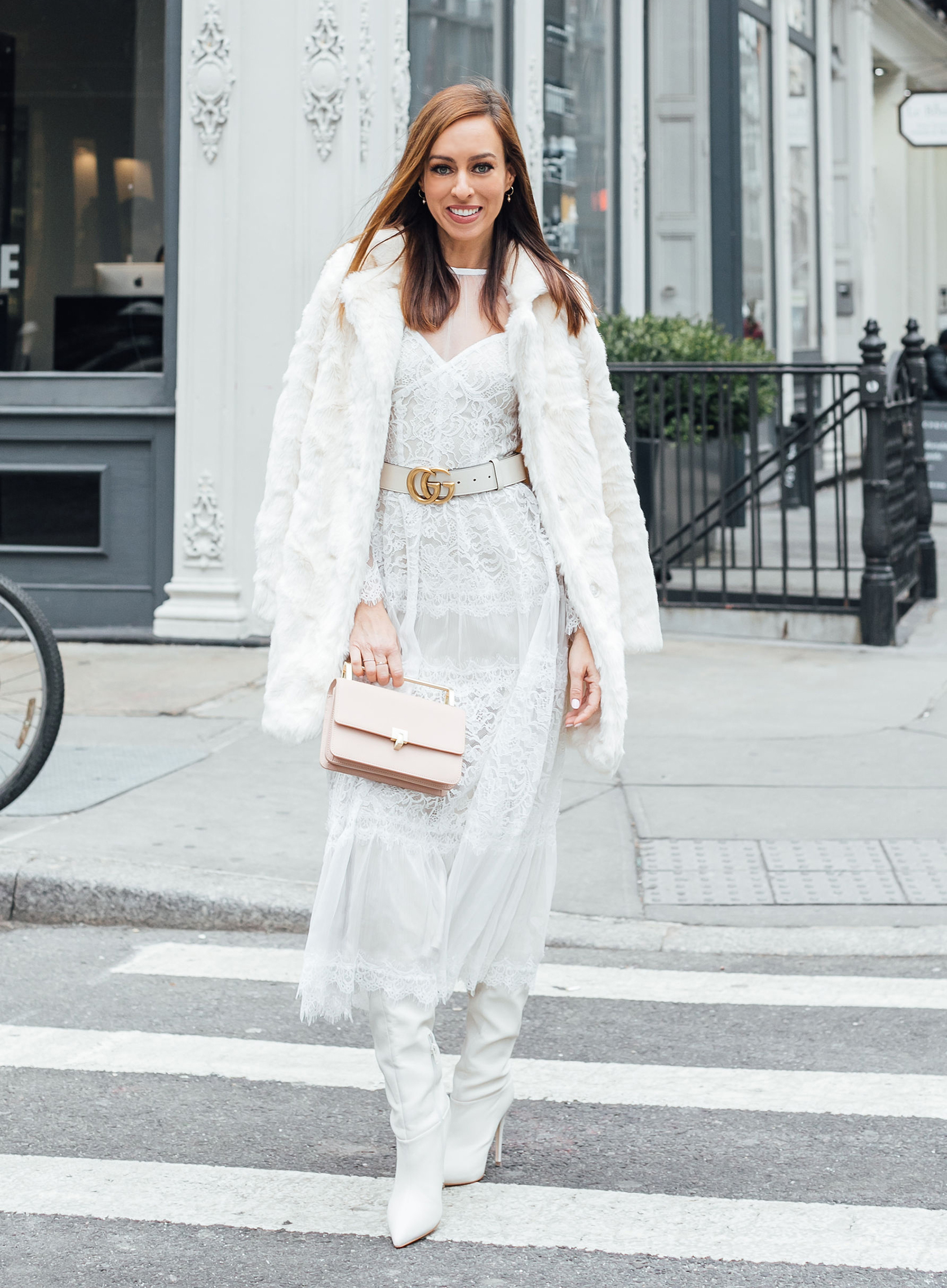 67e714cddcf9 Sydne Style shows how to wear winter white for new york fashion week street  style