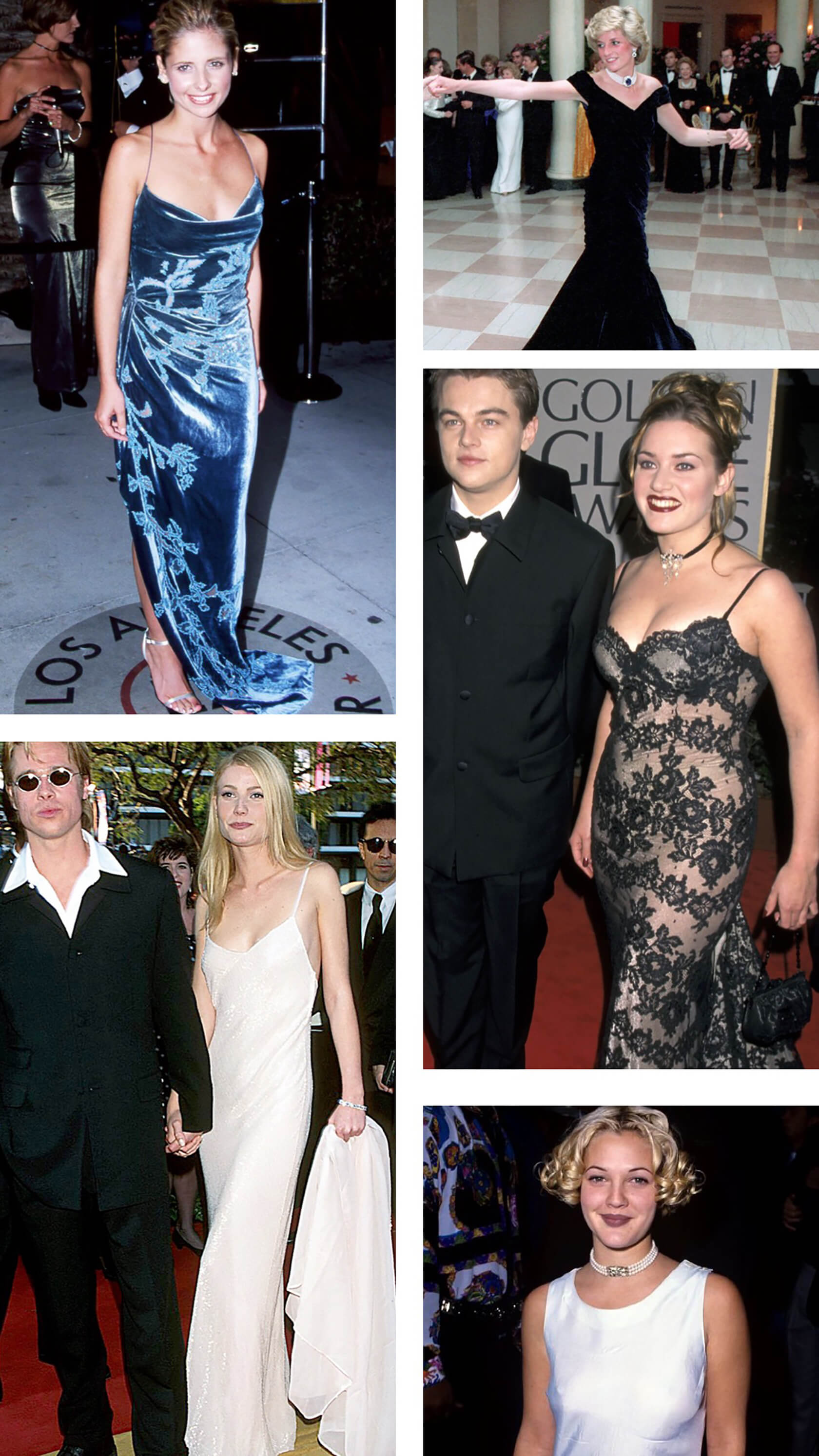 Sydne Style shows what to wear to 90s prom party with 90s red carpet dress inspiration