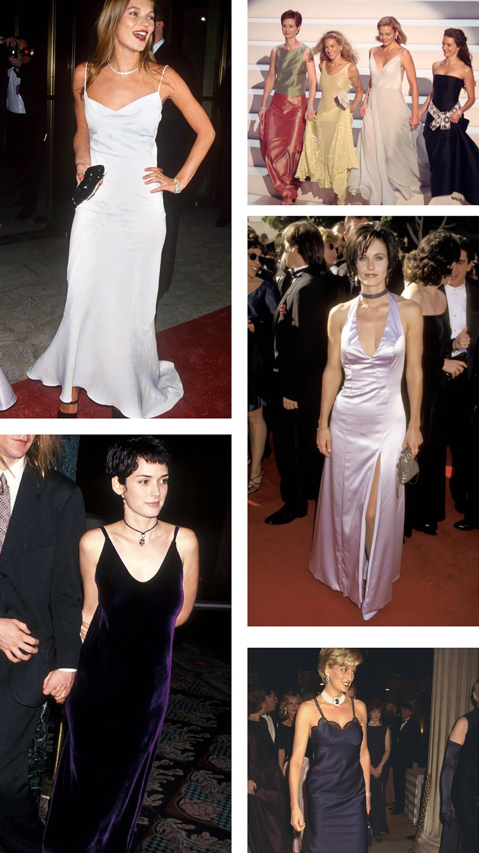 Sydne Style shows what to wear to 90s prom party with 90s red carpet gown inspiration