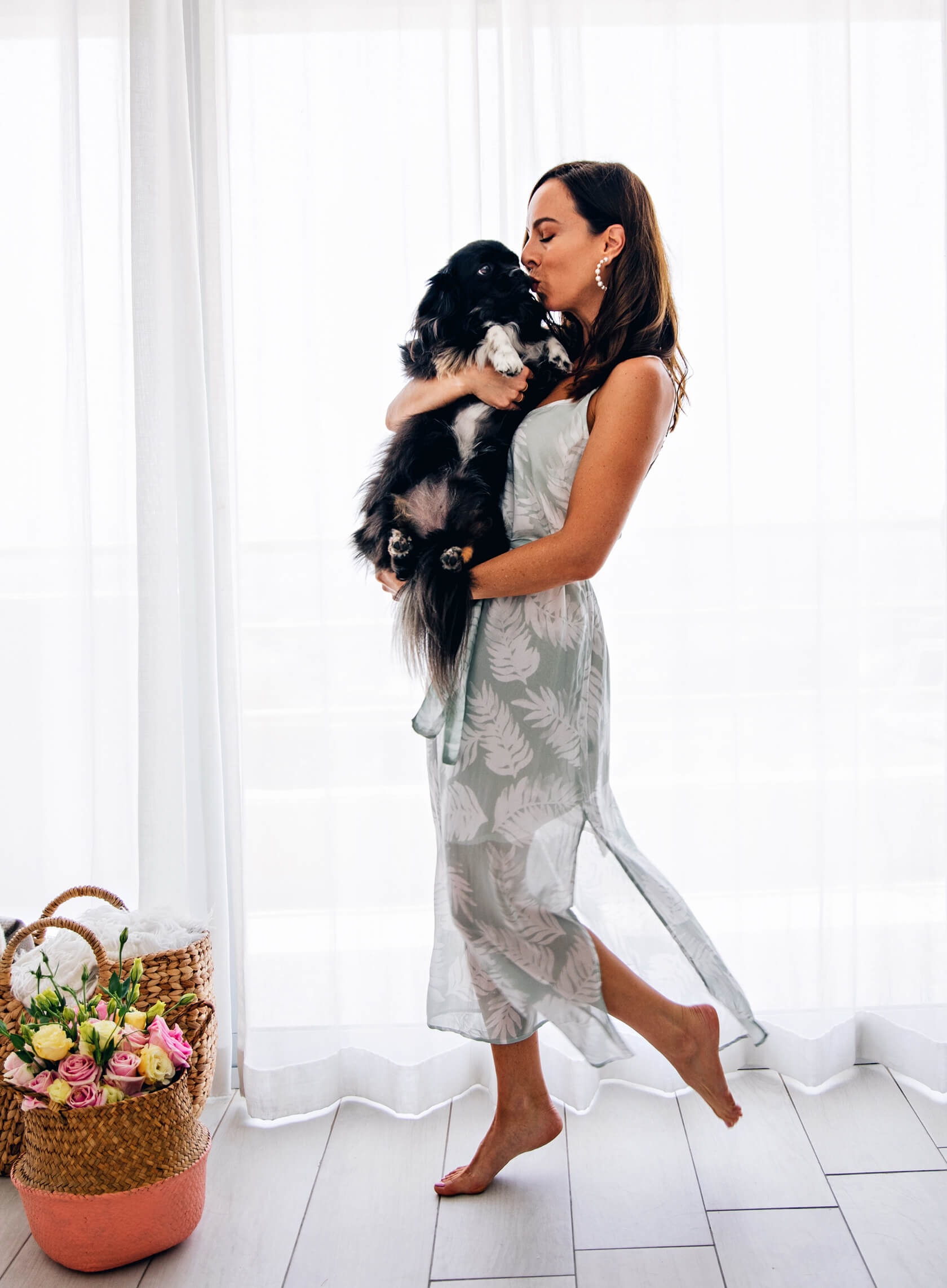 Sydne Style shows cute photos of blogger and dog for national rescue dog day