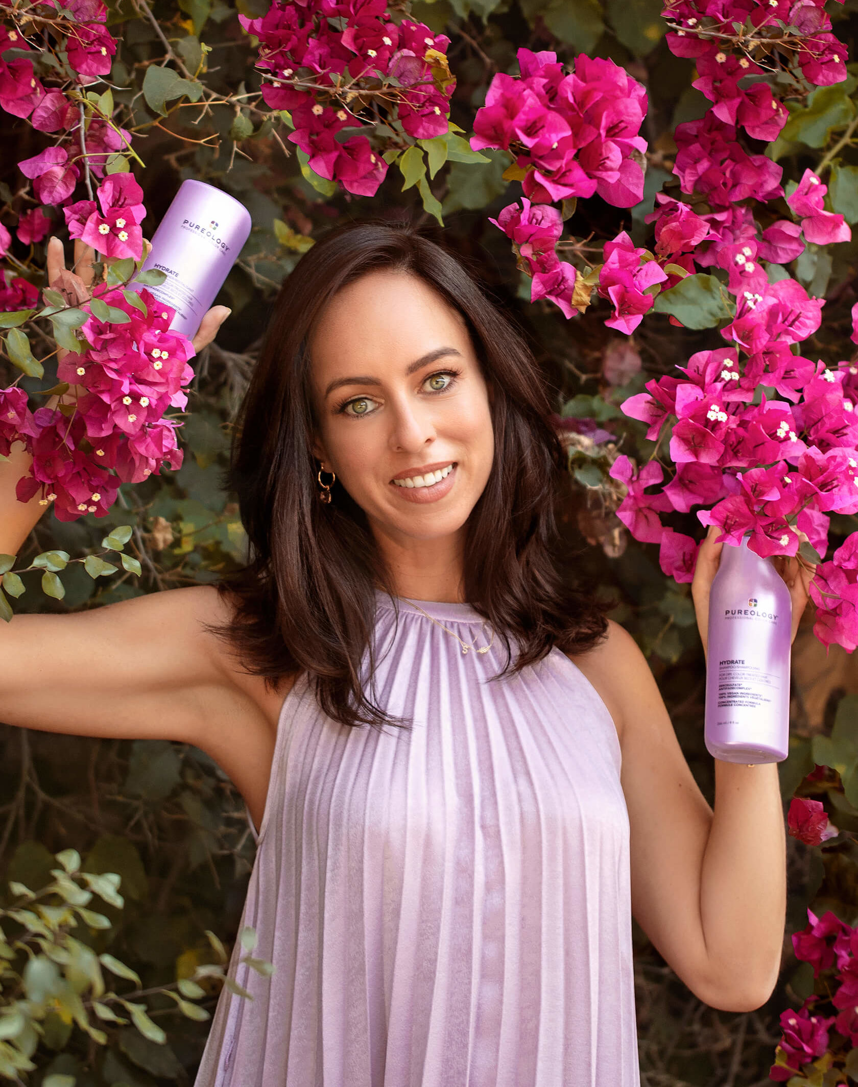 Sydne Style reviews Pureology hydrate line at Sephora